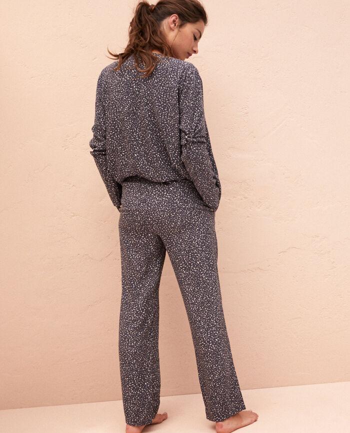 Pantalon Optik gris Pictural
