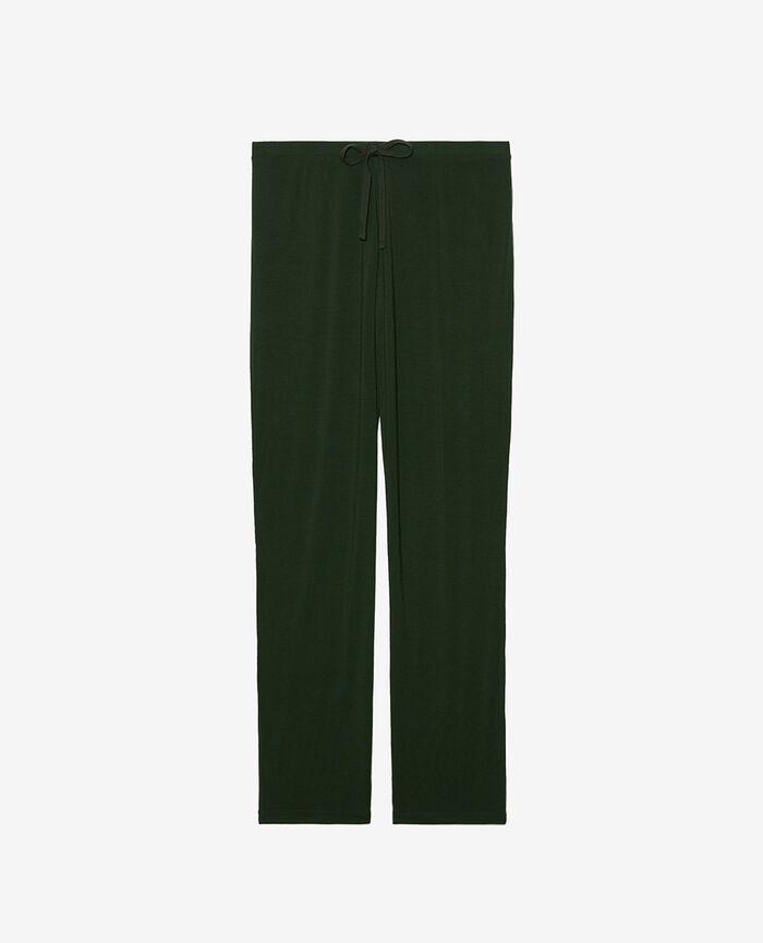 Pantalon Vert cyprès Douceur