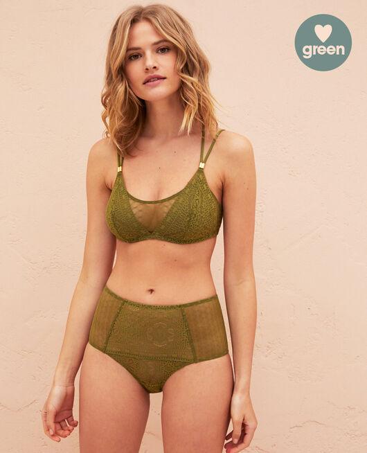 Culotte taille haute Vert oasis Atlas
