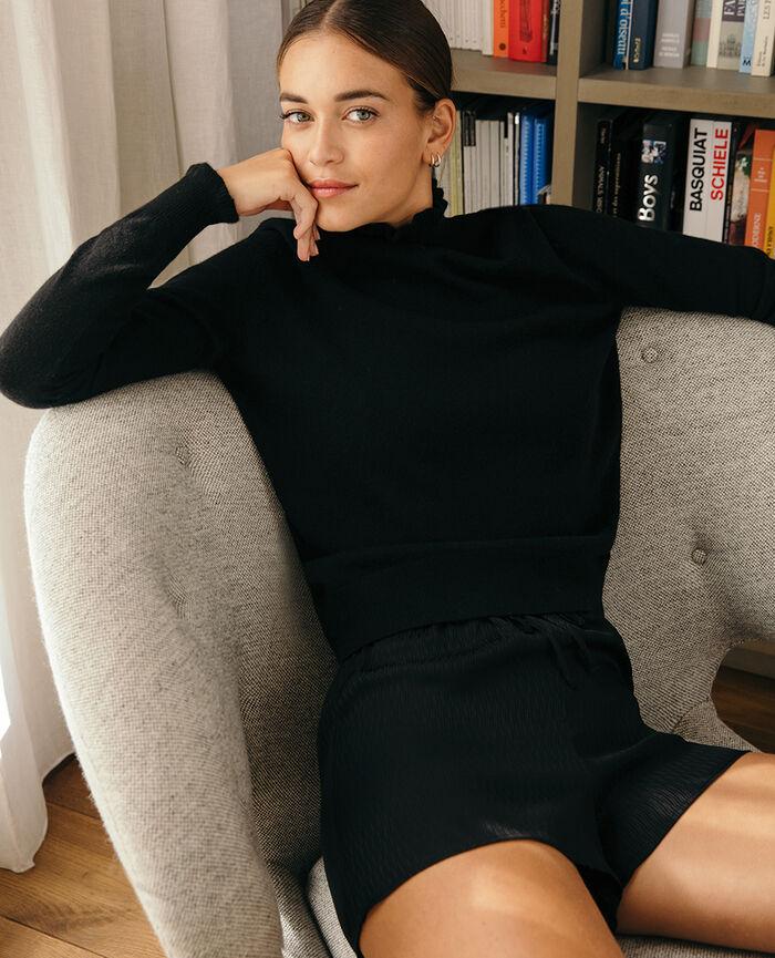Pyjama shorts Black Fancy
