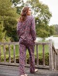 Pyjama set Carnation blue Flanelle