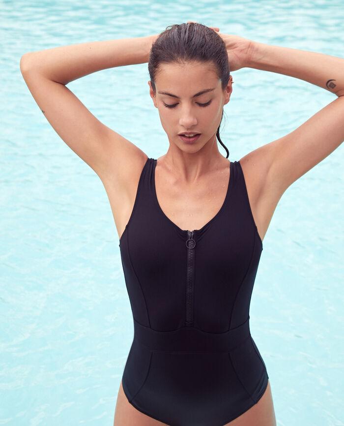 Maillot de bain une pièce de sport Noir Aqua