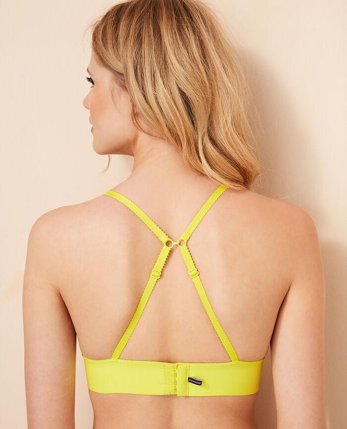 Soft cup bra Sunset yellow Voodoo