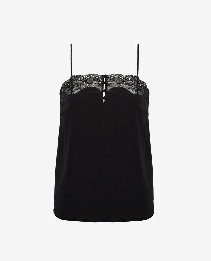 Pyjama cami Black Divine