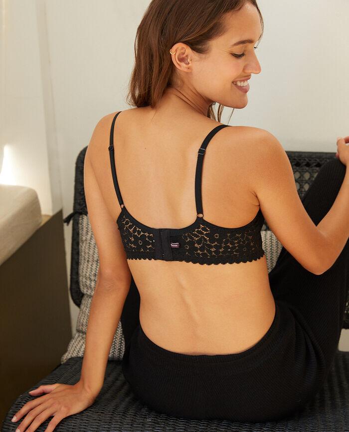 Underwired bra Black Monica