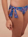 High-cut bikini briefs Flower blue Princesse tam.tam x uniqlo