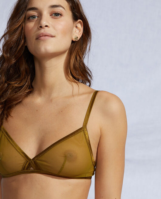 Soft cup bra Green bowie Pure