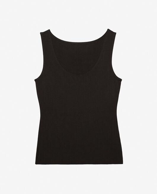 Vest top Black Inner heattech