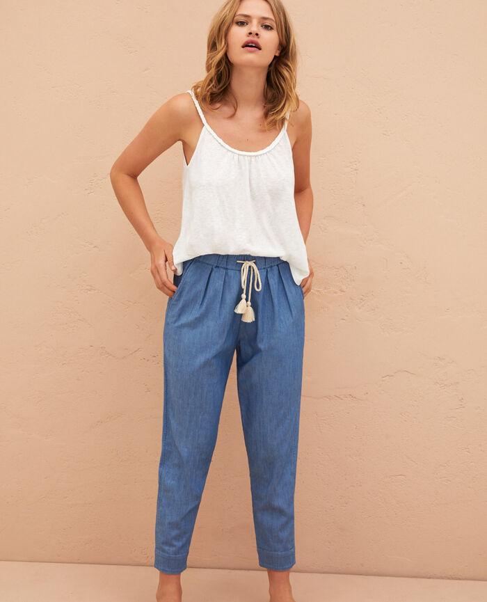 Pantalon Bleu denim Medina