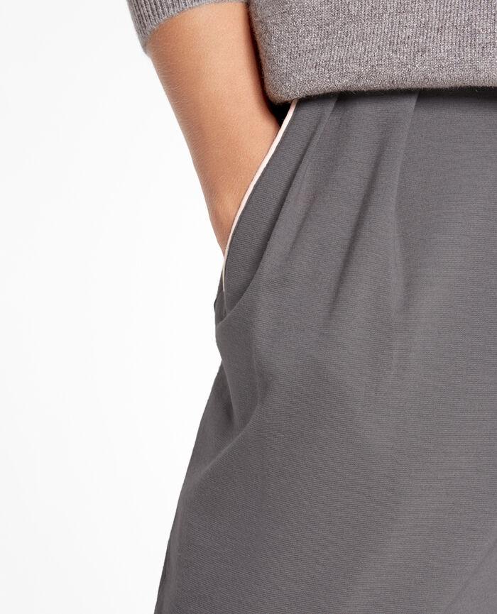 Pantalon carotte Gris acier Neptune