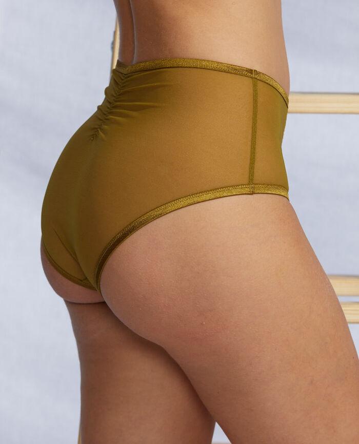 Culotte taille haute Vert bowie Pure