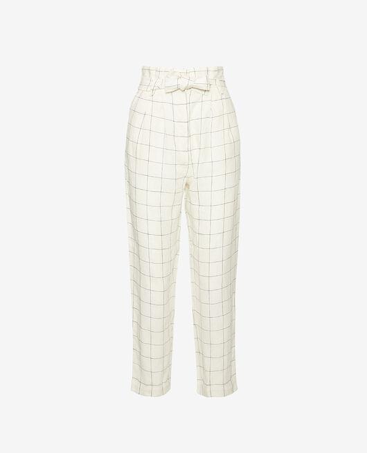 Trousers Checks Chic lin