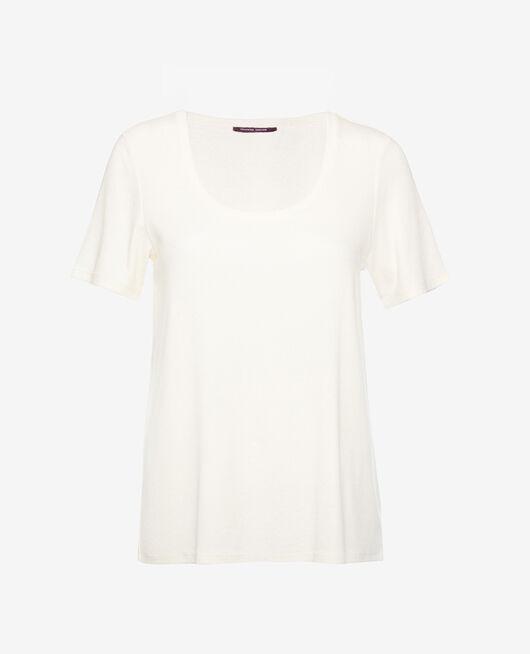Short-sleeved t-shirt Rose white Dimanche