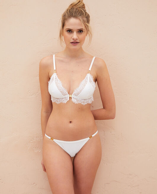 Soft cup bra Rose white Habibi