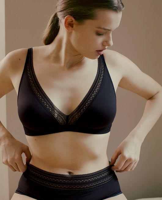 Wireless bra Black Eclat