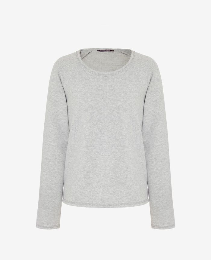 Sweat sporty Gris clair Moove