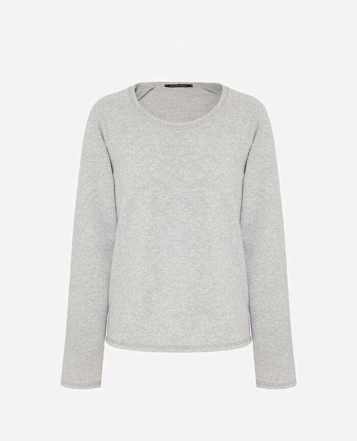Sporty sweater Light grey Moove