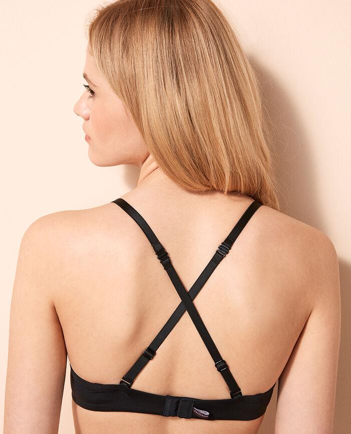 Underwired bra Black Make up