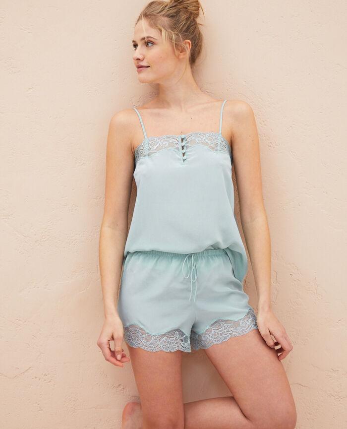 Pyjama shorts Mosaic green Divine
