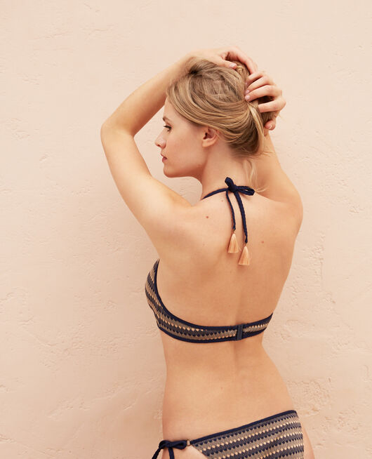 Mini-wire triangle bikini top Multicolour Nour