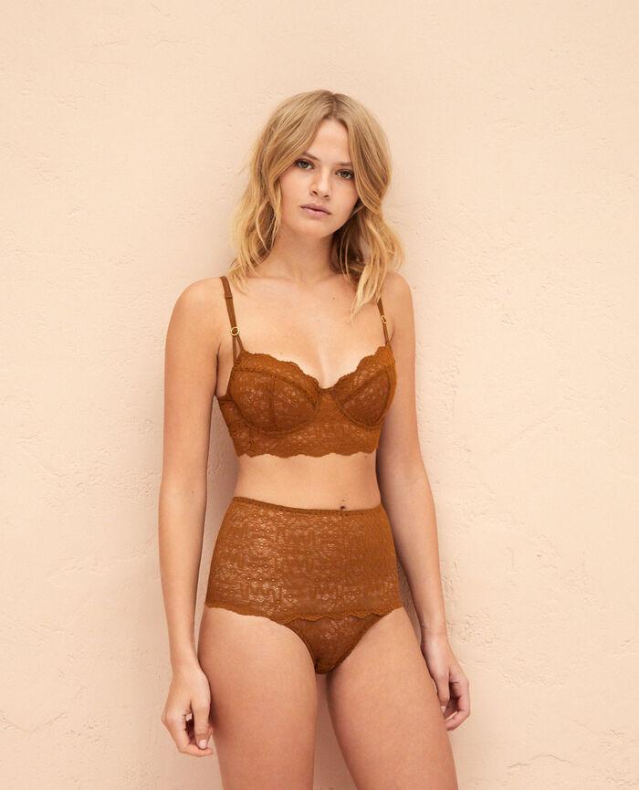 Culotte taille haute Bronze Muse
