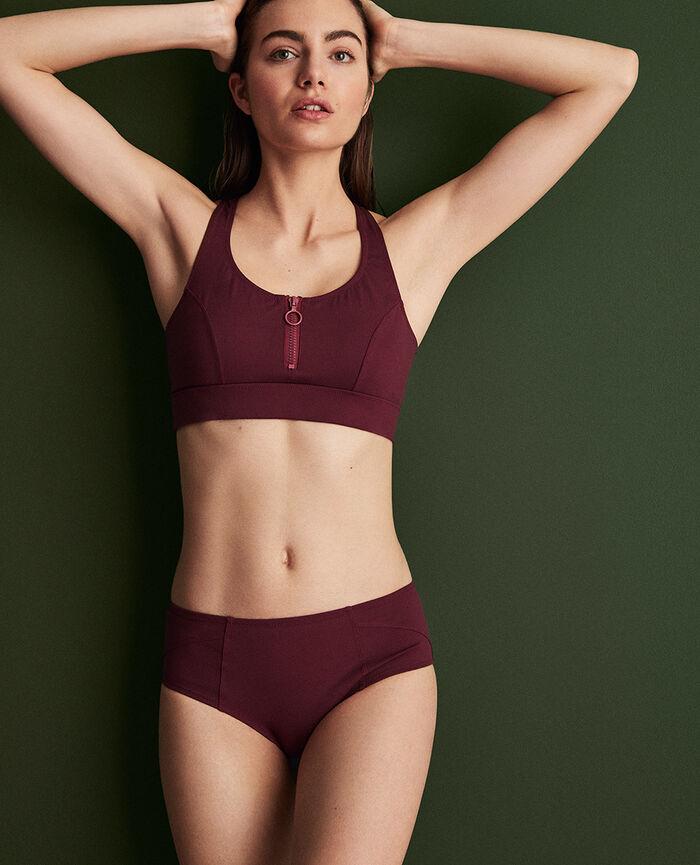 Culotte de natation Rouge cassis Aqua