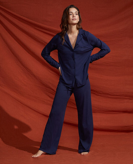 Trousers Navy Dimanche