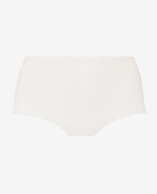 Culotte taille haute Blanc rosé Secret