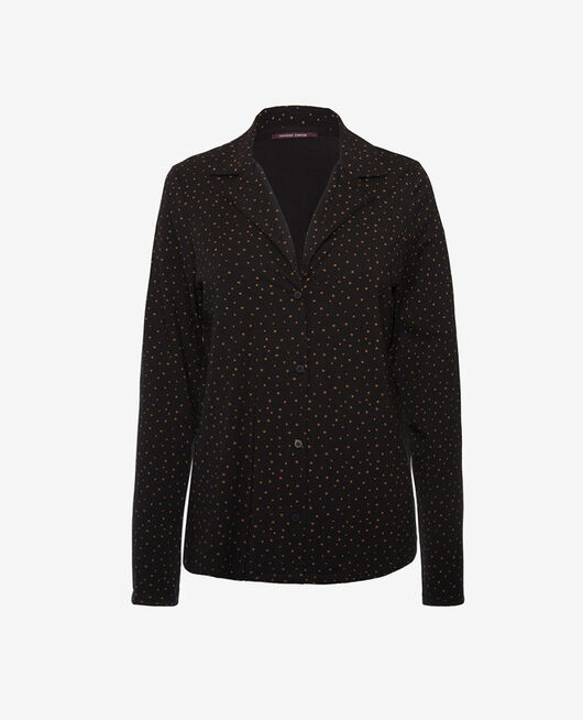 Pyjama jacket Stars noir Dimanche