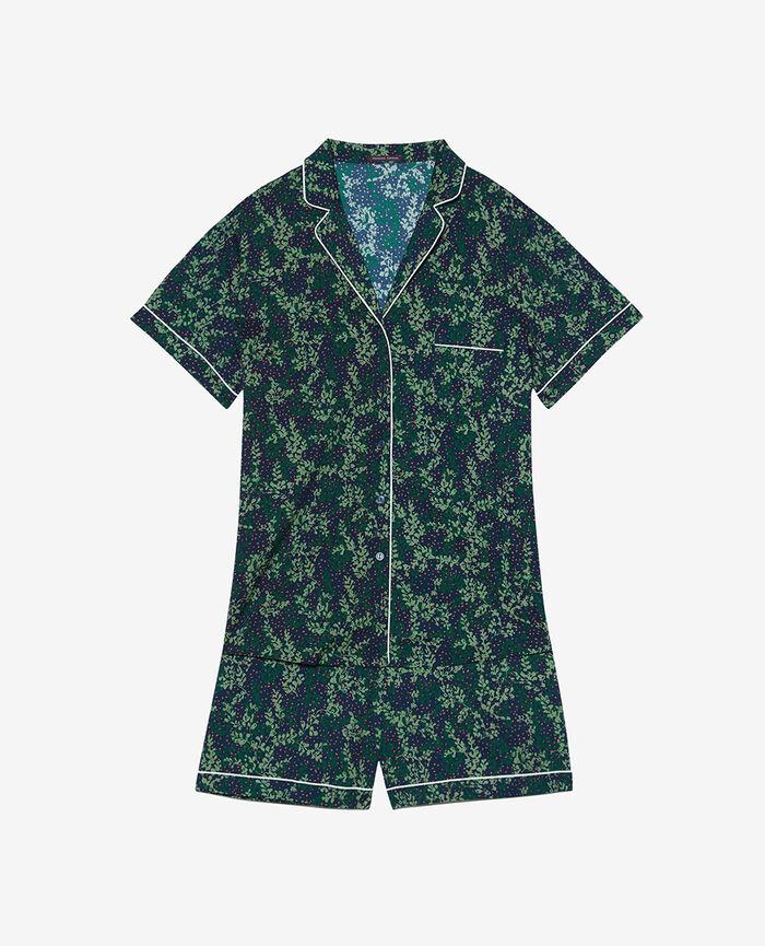 Pyjama set Navy lilac Tutti frutti