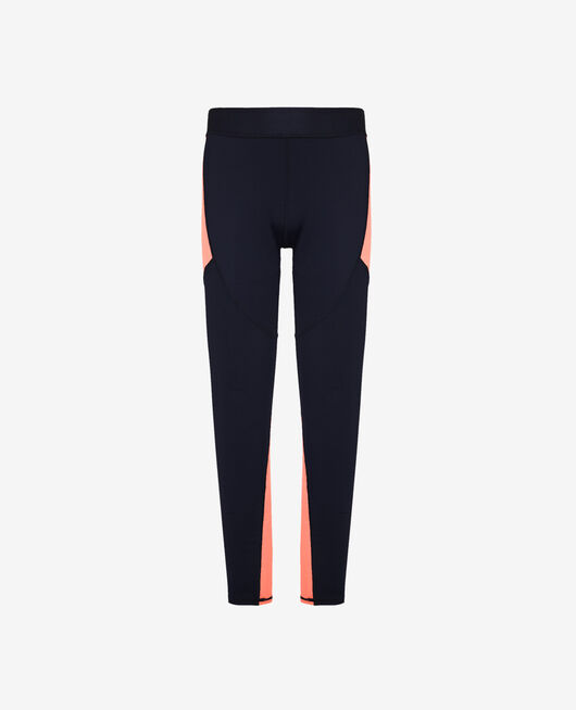 Legging de running long Bleu marine Run