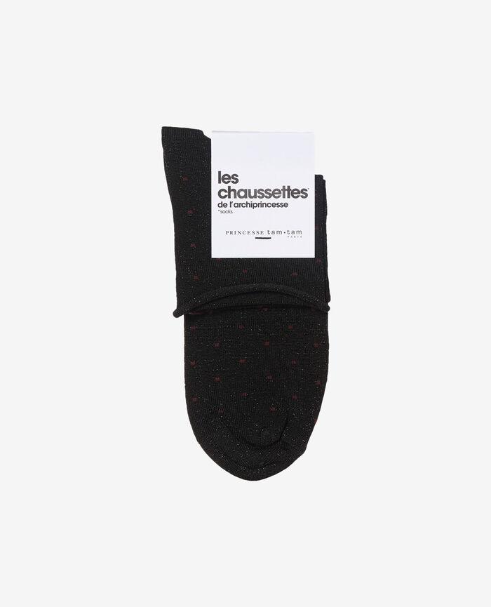 Chaussettes Noir Petra