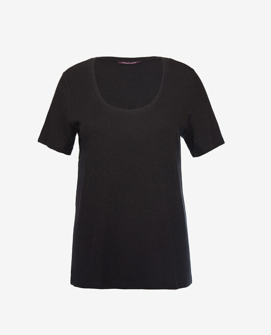 Short-sleeved t-shirt Black Dimanche