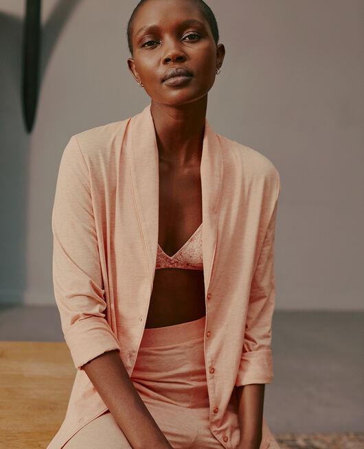Pyjama jacket Flecked pink Paresse