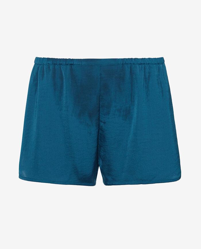 Pyjama shorts Jazz blue Minuit
