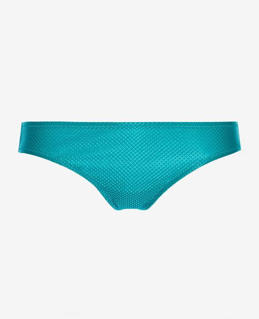 Culotte de bain taille basse Vert aquatique Reve