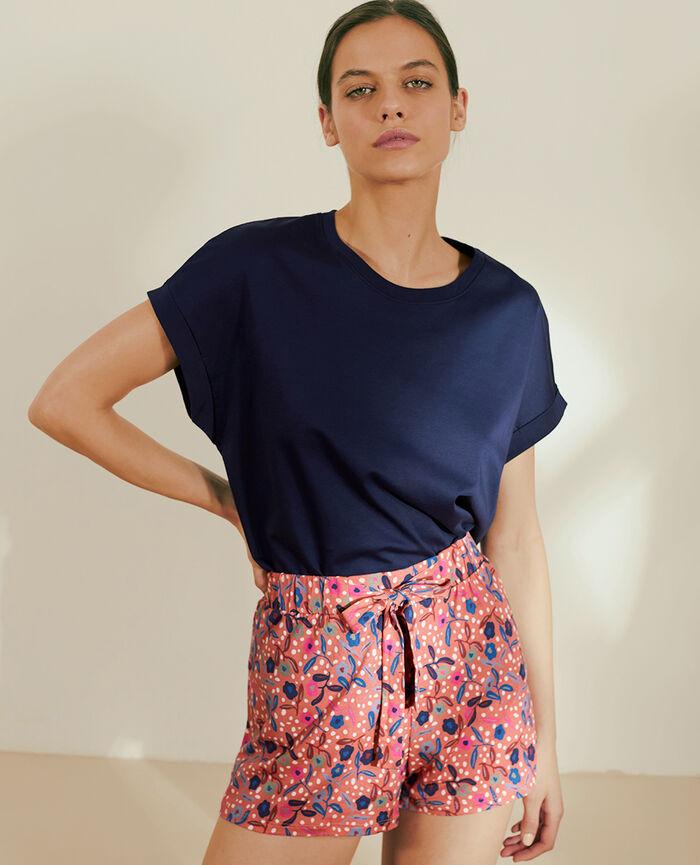 Short-sleeved t-shirt Navy Supima