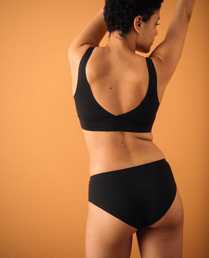 Soft bustier bra Black Secret - loungerie