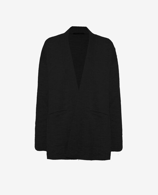 Long-sleeved cardigan Black Inspiration