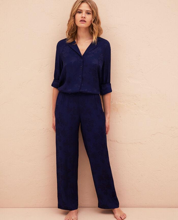 Pantalon Bleu marine Menara