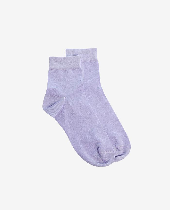 Socks Woodstock purple Glow