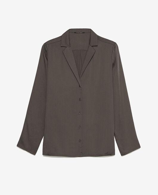 Pyjama jacket Smoky grey Attitude