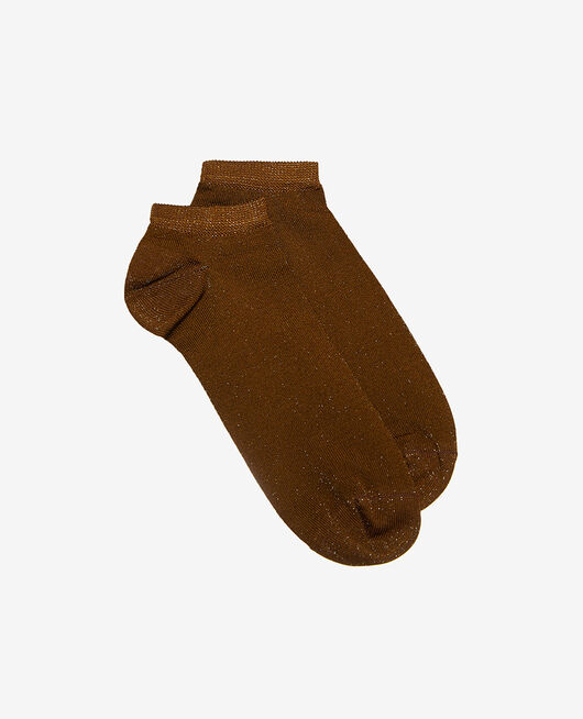 Chaussettes basses Brun cocktail Galaxie