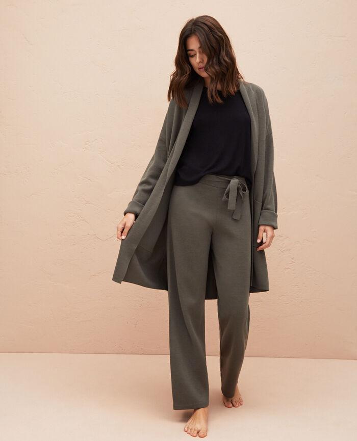 Medium-length jacket Casbah green Inspiration