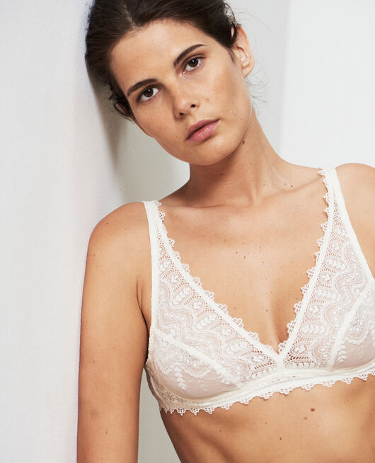 Soft cup bra Ivory Amour