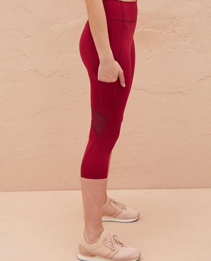 Legging de running galbant court Violet sultan Run jersey