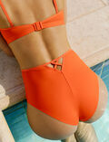 Culotte de bain taille haute Orange sanguine Tiwizi