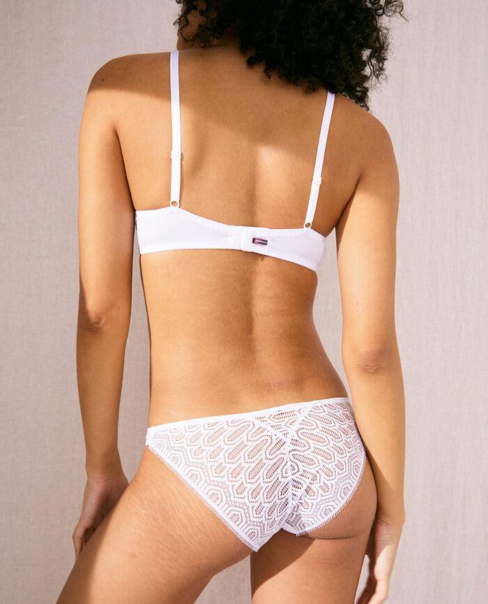 Padded push-up bra White Candeur