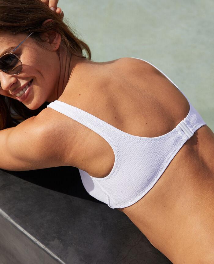Underwired bikini top White Allure
