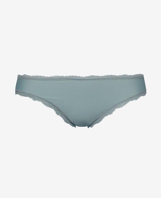 Culotte taille basse Vert amande Take away